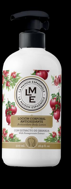 La Maison Espagnole | Cuidado Personal | Loción Corporal Antioxidante Granada | Innovación y Creación de Fragancias y Cosmética| Magasalfa
