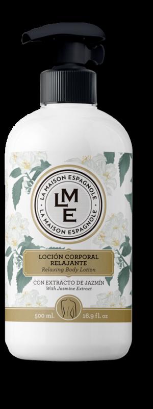 La Maison Espagnole | Cuidado Personal | Loción Corporal Relajante con Extracto de Jazmín | Innovación y Creación de Fragancias y Cosmética| Magasalfa