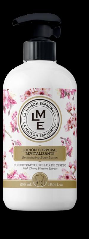 La Maison Espagnole | Cuidado Personal | Loción Corporal Revitalizante Flor de Cerezo | Innovación y Creación de Fragancias y Cosmética| Magasalfa