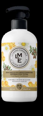 La Maison Espagnole | Cuidado Personal | Mascarilla Acondicionadora Reparación Total Miel y Aceite de Jojoba | Innovación y Creación de Fragancias y Cosmética| Magasalfa