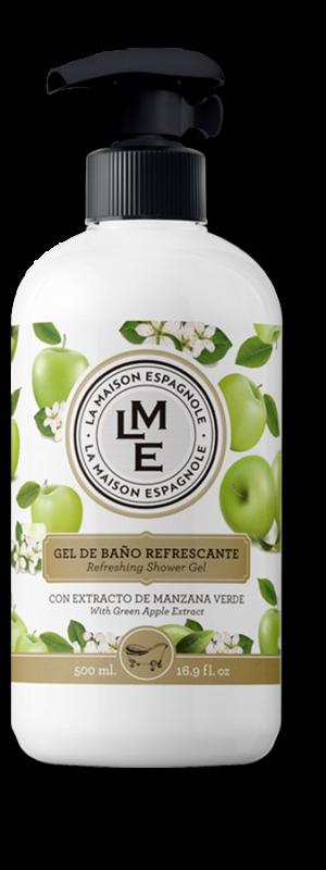 La Maison Espagnole | Cuidado Personal | Gel de Baño Refrescante Manzana | Innovación y Creación de Fragancias y Cosmética| Magasalfa