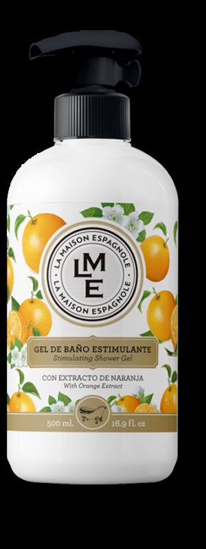 La Maison Espagnole | Cuidado Personal | Gel de Baño Estimulante Naranja | Innovación y Creación de Fragancias y Cosmética| Magasalfa