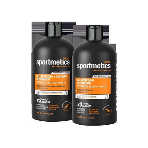 SPORTMETICS-POST-SPORT-EXTERIOR-UNISEX Magasalfa Higiene